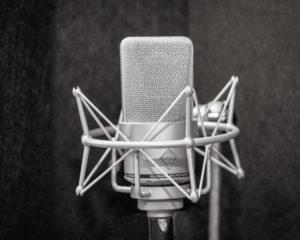 Liz Drury's Neumann Microphone