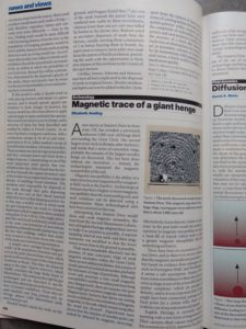 Article in Nature